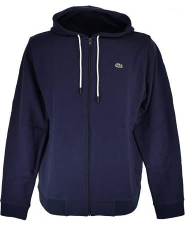 Lacoste Navy SH1933 Hooded Sweatshirt
