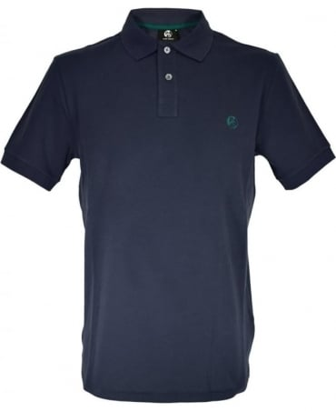 PS by Paul Smith Navy Short Sleeve Polo Shirt