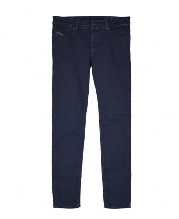 Diesel Navy Sleenky Slim-Skinny Jeans