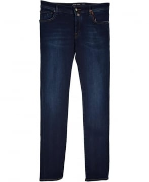 Jacob Cohen Navy Slim Fit Jeans