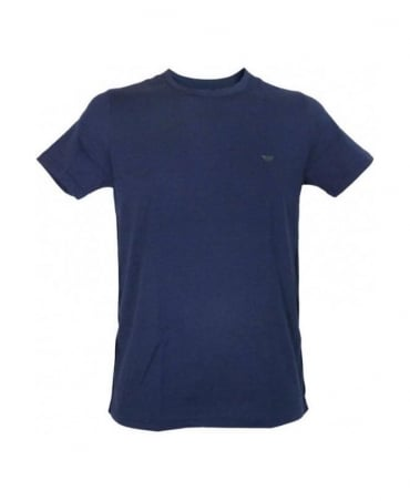 Armani Navy Slim Underwear T-Shirt