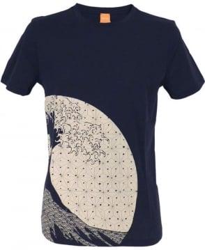 Hugo Boss Navy Sons of Japan Design 'Tomsin 5' T/Shirt