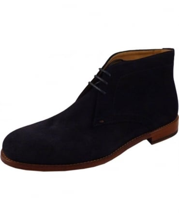 Paul Smith - Shoes Navy SPXD-PO44-SUE Morgan Suede Boot