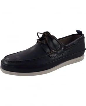 Paul Smith - Shoes Navy SPXG-R240-MIC Branca Boat Shoe