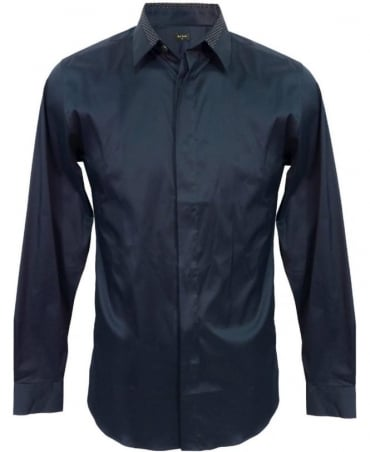 Paul Smith - PS Navy Super Slim Shirt PKXD/712M/801