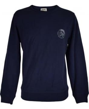 Diesel Navy SWT-Willy Crew Neck Sweatshirt