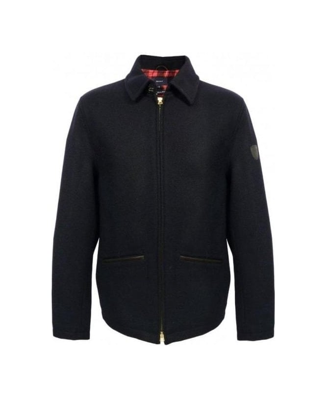 Gant Navy The Collegiate Jacket