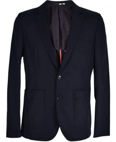 PS By Paul Smith Navy Two Button PSXD-1724-323 Jacket