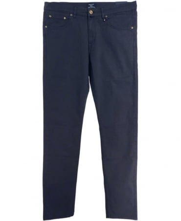 Gant Navy Tyler Comfort Cotton Poplin Jean
