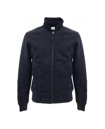 CP Company Navy Watchviewer Felpa Alperta Zip Up Sweatshirt