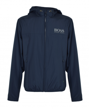 Hugo Boss Navy Water Resistant Jeltech Jacket