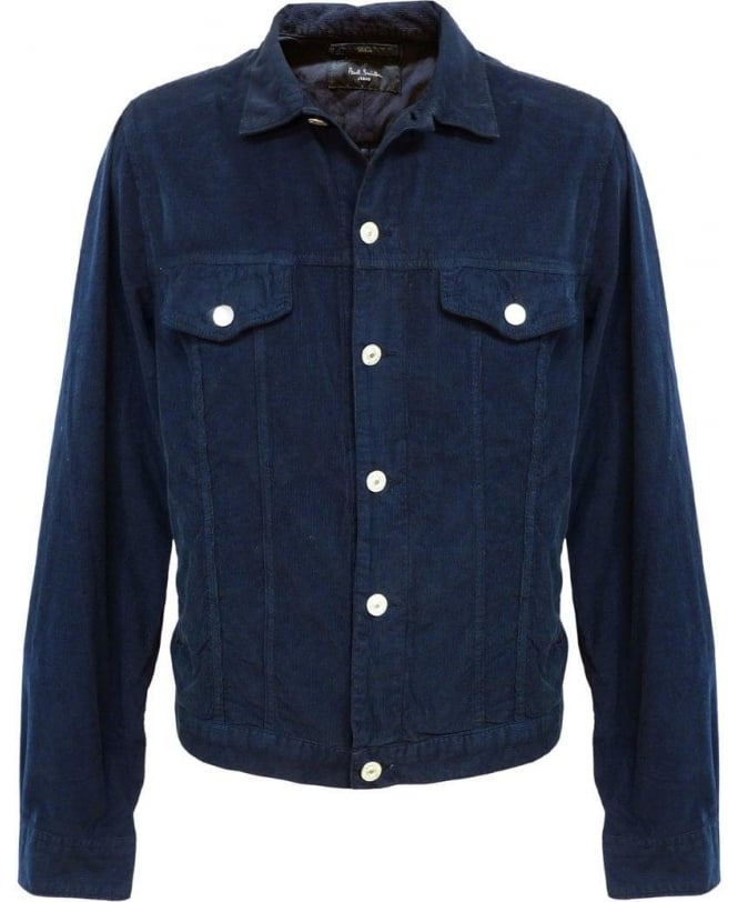 Paul Smith - Jeans Navy Western Corduroy Jacket