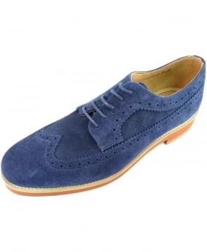Gant Navy Willow Suede Shoe