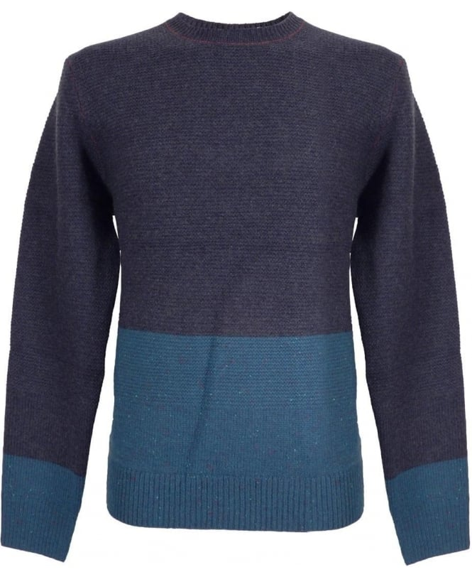 Paul Smith Navy Wool Regular Fit Sweater