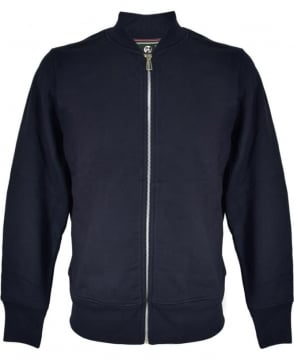 PS By Paul Smith Navy Zip Up Bomber Jacket
