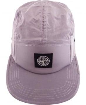 Stone Island Nylon Metal Hat In Pink