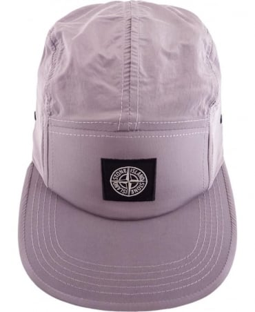 Stone Island Nylon Metal Hat In Pink