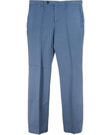 Hackett Ocean Blue 'Kensington' Slim Chino