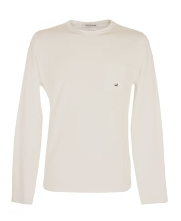 CP Company Off White 03CMTS045A Long Sleeve T-Shirt