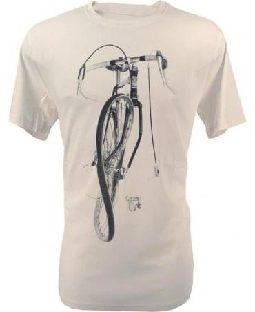 Paul Smith - Jeans Off White JPFJ-5501-P9662 Paul's Bike Print T-Shirt