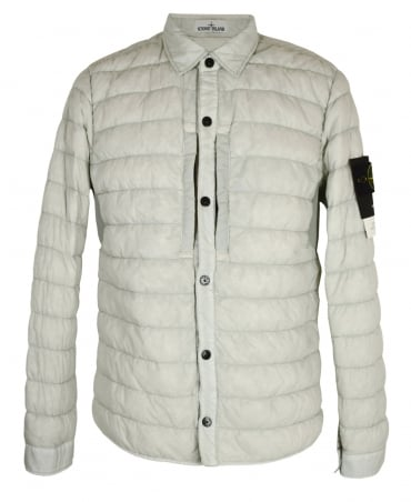 Stone Island Off White Micro Yarn Down Jacket