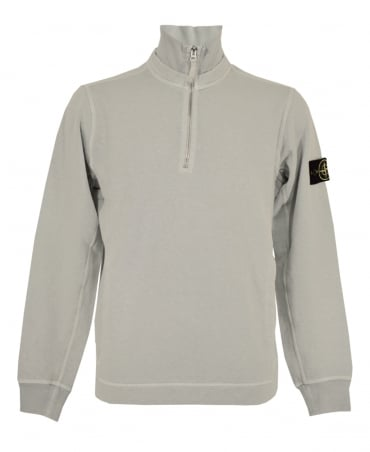 Stone Island Off White Zip Up 60461 Sweatshirt