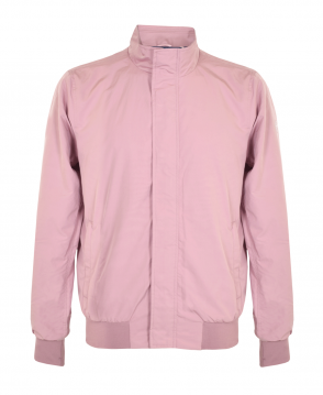 Scotch & Soda Old Pink Nylon Harrington Jacket