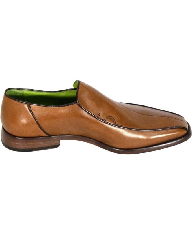Oliver Sweeney Tan Rome Slip On Shoes
