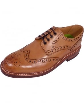 Oliver Sweeney Tan 'Saunders' Oxford Brogue