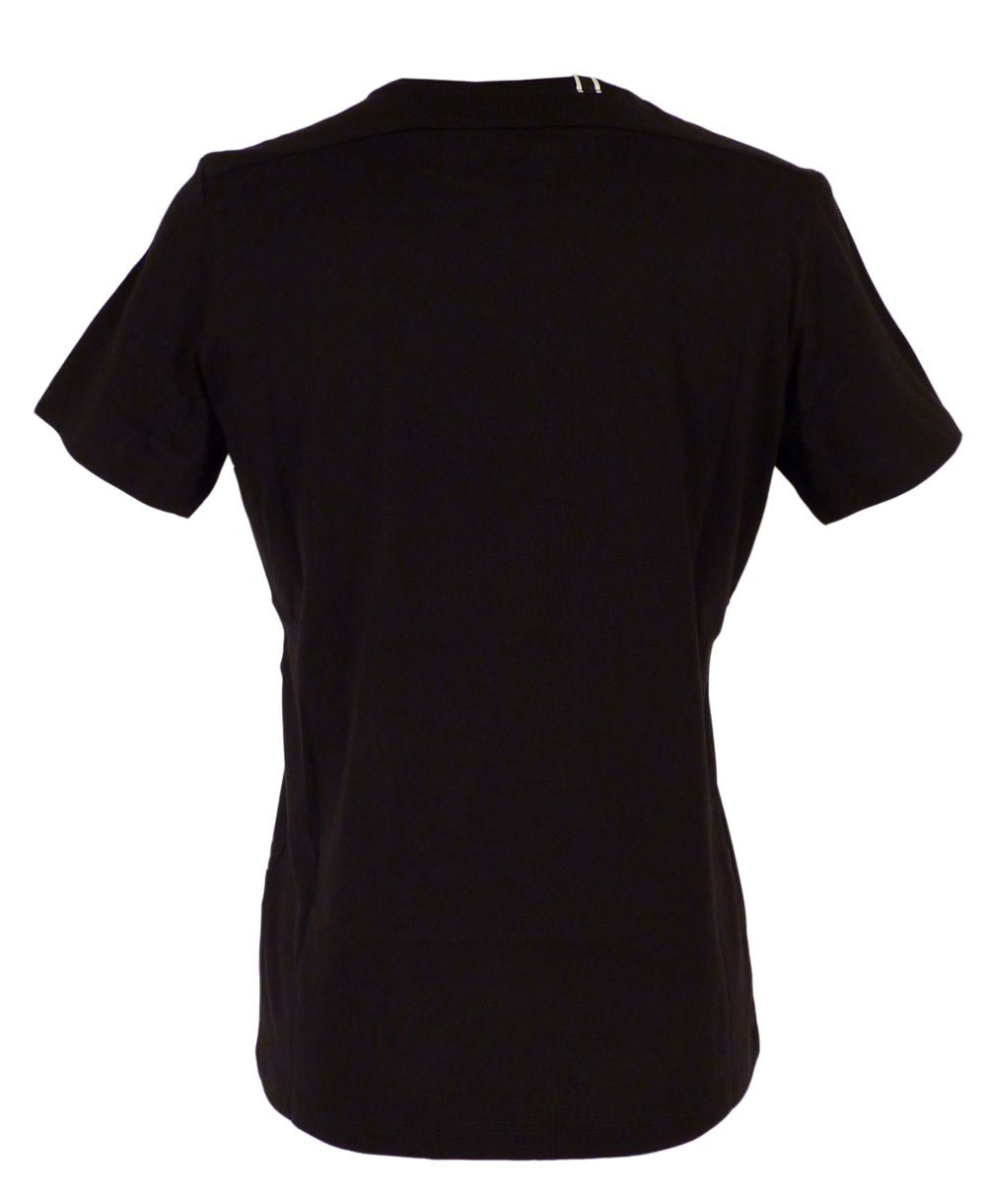 Replay One Off Jersey T Shirt With Print In Black Replay