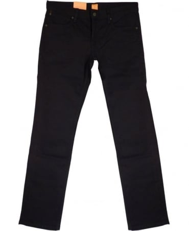 Hugo Boss 'Orange 63' Slim Fit Jeans In Black