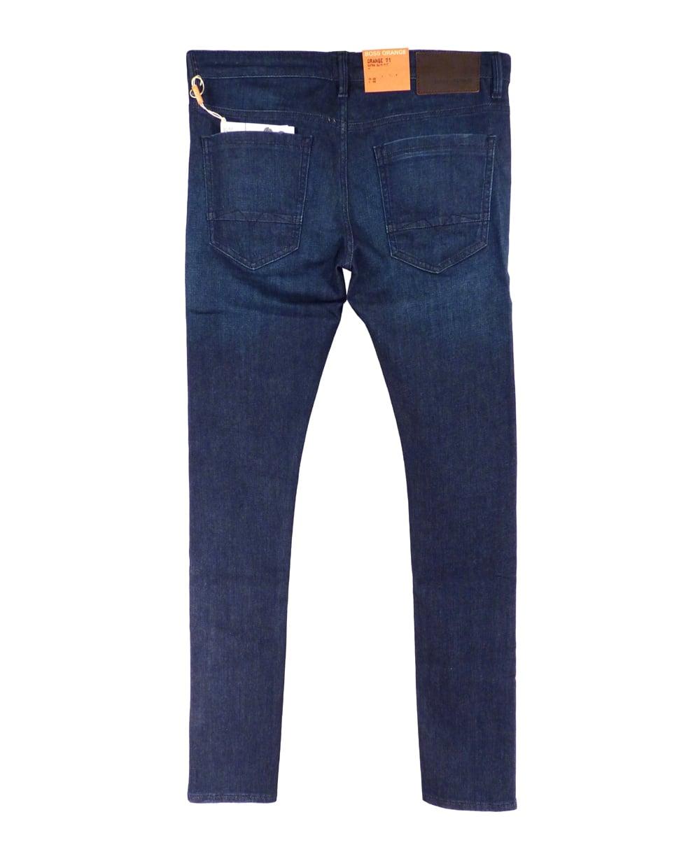 hugo boss 39 orange 71 blues 39 extra slim fit jeans hugo. Black Bedroom Furniture Sets. Home Design Ideas