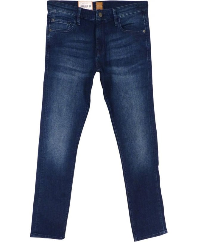 Hugo Boss 'Orange 71' Extra Slim Fit Jeans In Blue