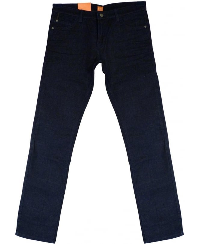 Hugo Boss 'Orange 71' Extra Slim Fit Jeans In Dark Blue