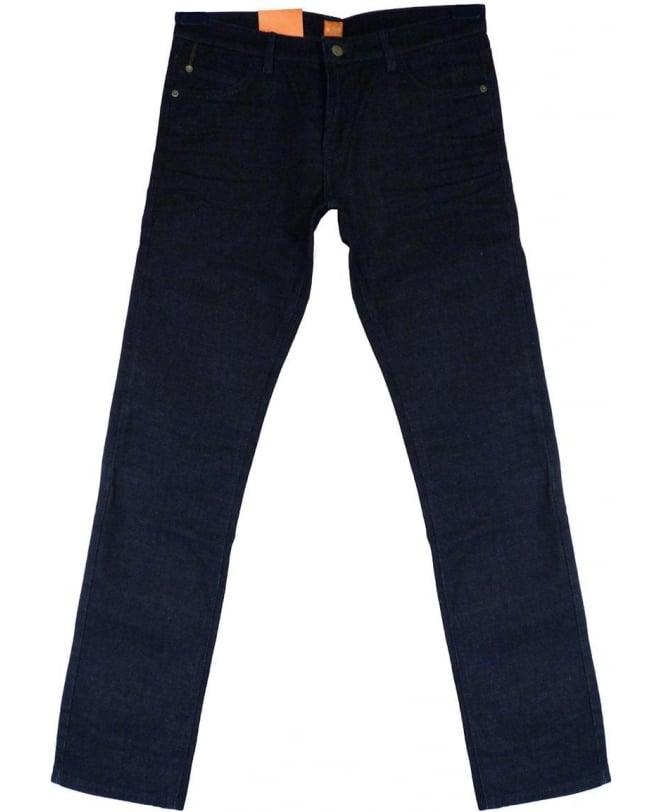 Hugo Boss 'Orange 71' Extra Slim Fit Jeans In Dark Blue