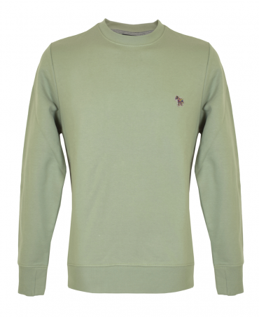 Pale Green Crew Neck Sweatshirt