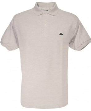 Lacoste Pale Grey Classic Fit Polo Shirt
