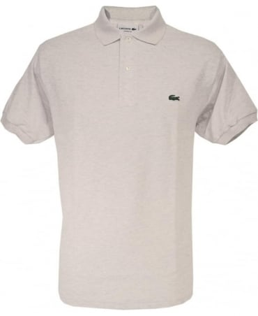 Pale Grey Classic Fit Polo Shirt