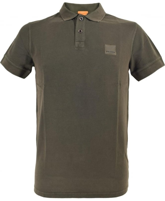 Hugo Boss 'Pascha' Slim Fit Polo Shirt In Khaki