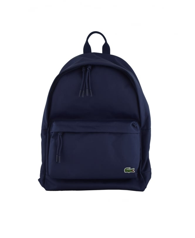 Lacoste Peacoat Navy Neocroc Monochrome Backpack