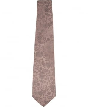 Paul Smith  Pearl Rose Floral Print Tie