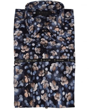 1 ...Like No Other Pengo Print 3034S Classic Fit Shirt