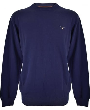 Persian Blue Crew Neck 88201 Knitwear Jumper
