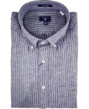 Gant Persian Blue Stripe 320010 Linen Shirt