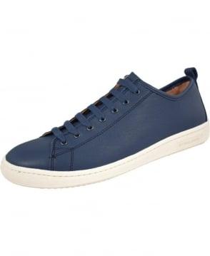 Paul Smith - Shoes Petrol Blue Leather Miyata Shoe