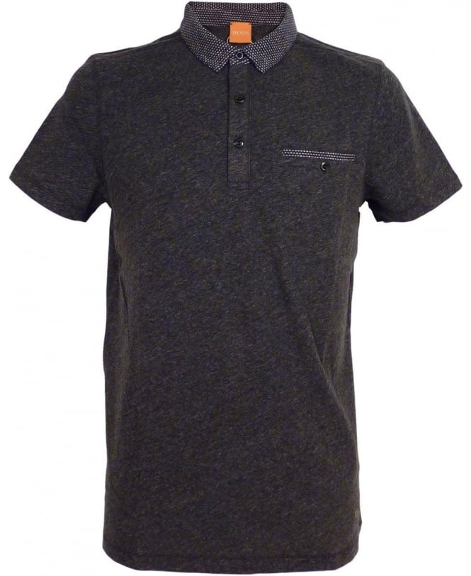 Hugo Boss 'Pilippo' Polo Shirt In Grey