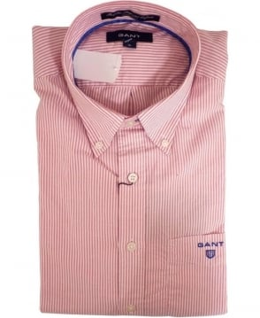 Gant Pink 343210 Bel Air Banker Stripe Shirt
