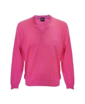 Hugo Boss Pink Barnabas 2 Knitwear Jumper