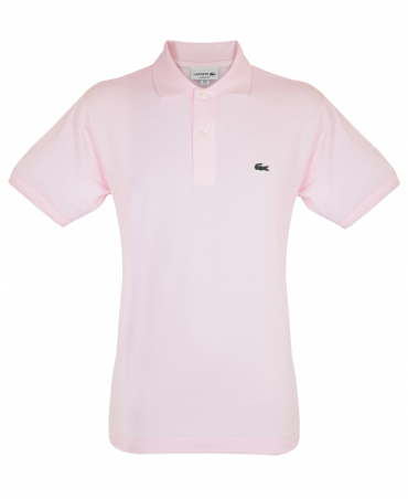 Pink Classic Fit L.12.12 Polo Shirt