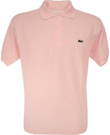 Lacoste Pink Classic Fit Polo Shirt